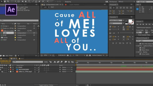 Basic Typography & Motion Graphics